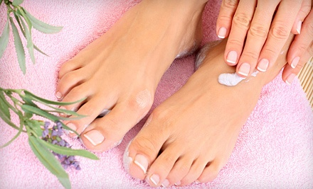 75-Minute Mani-Pedi (a $55 value) - Nails by Noelle inside Tuscany Salons and Spas in Spring