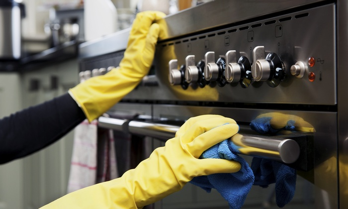 TSV Cleaning - London: Full Oven Clean with Optional Hob Clean from TSV Cleaning (Up to 34% Off)
