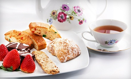 Afternoon Tea for One, Two, or Four at Van Noy Mansion (Up to 52% Off)