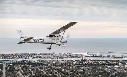 Image Placeholder Image For $103 For Introductory Flight For One With  Destin Flight Works ($185 Value)