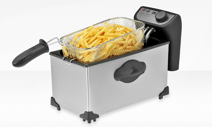 Kalorik Stainless Steel 4 Qt. Deep Fryer: Kalorik Stainless Steel 4 Qt. Deep Fryer. Free Returns.