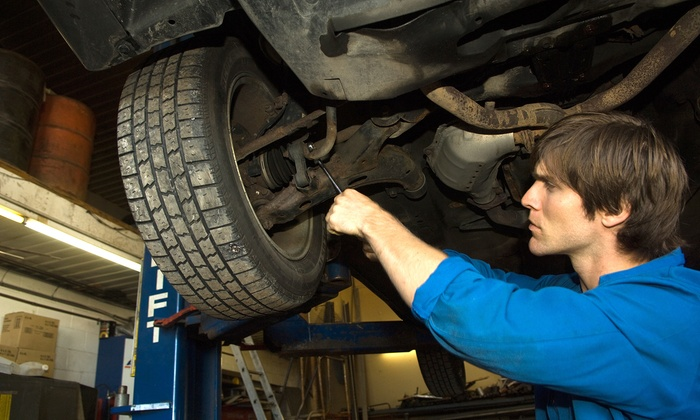 TechPro Auto Repair & Tire Services - Markham: Wheel Balancing and Tire Rotation or a 3D Wheel Alignment at TechPro Auto Repair & Tire Services (50% Off)