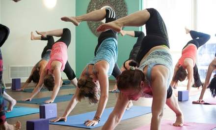 $29 for One Month of Unlimited Classes Plus Three Buddy Passes at Mountain Yoga Sandy ($204 Value)