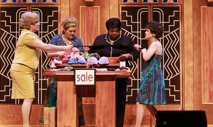 """""""Menopause, the Musical"""" - Murat Theatre at Old National Centre: """"Menopause, the Musical"""" at Egyptian Room at Old National Centre (Up to 44% Off). Three Dates Available."""