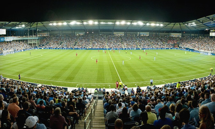 Sporting Kansas City - Edwardsville: $25 for a Sporting Kansas City Soccer Game Package on July 24 at LIVESTRONG Sporting Park ($49.95 Value)