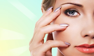 Studio B Brow Bar and Body Studio: One or Three Shellac Manicures or Eyebrow Arching at Studio B Brow Bar and Body Studio (Up to 53% Off)