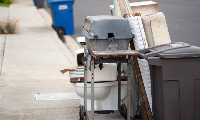 You Move We'll Clean Up - Joliet: Two, Four, or Six Hours of Trash Removal from You Move We'll Clean Up (Up to 58% Off)