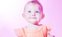 """Newborn or Baby Photoshoot with Three 7"""" x 5"""" Prints and a £50 Voucher at Studio 406 Portraits (96% Off)"""