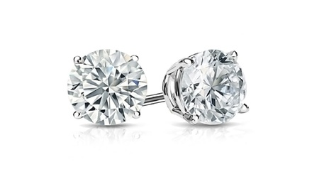 2.00-6.00 CTTW Certified Diamond Studs in 14K Gold