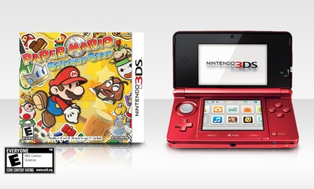 Nintendo 3DS System and Game Bundle (Refurbished). Systems Available in Pearl Pink or Flame Red. Free Returns.