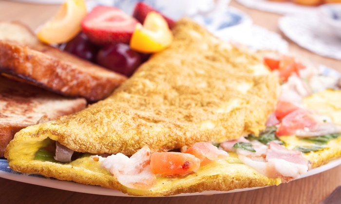 Omelette Headquarters - Beverly: American Food at Omelette Headquarters (Up to Half Off). Four Options Available.