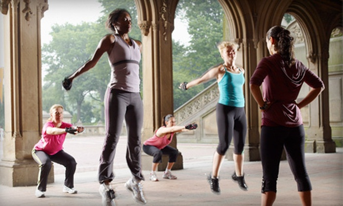 Stacy's Bootcamp - Central Park: One or Three Weeks of Unlimited Boot Camp at Stacy's Bootcamp (Up to 74% Off)
