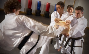 West Cobb Martial Arts: One Month of Unlimited Goju-Ryu Karate Classes for One Child or One or Two Adults at West Cobb Martial Arts