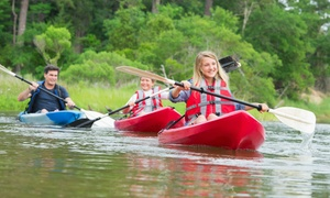 Clear Waters Outfitting Company: 8-Mile Kayak, SUP, or Tandem Canoe Trip on the Mississippi from Clear Waters Outfitting Company (Up to 45% Off)
