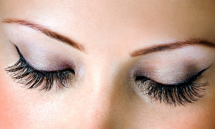 Posh Beauty Bar - Downtown: Full Set of Mink Eyelash Extensions for One or Two at Posh Beauty Bar (50% Off)