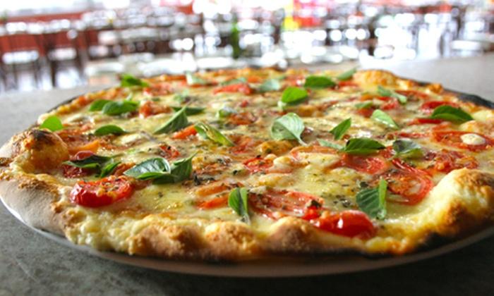 A pizza é essa - Brasília: A Pizza é Essa – Taguatinga: rodízio de pizza para 2 ou 4 pessoas, a partir de R$ 34,90