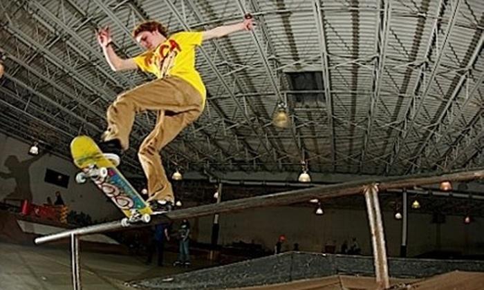 Krush Skatepark - Tinley Park: Four or Eight Skate-Park Visits or $30 for $60 Toward a Complete Custom Skateboard at Krush Skatepark