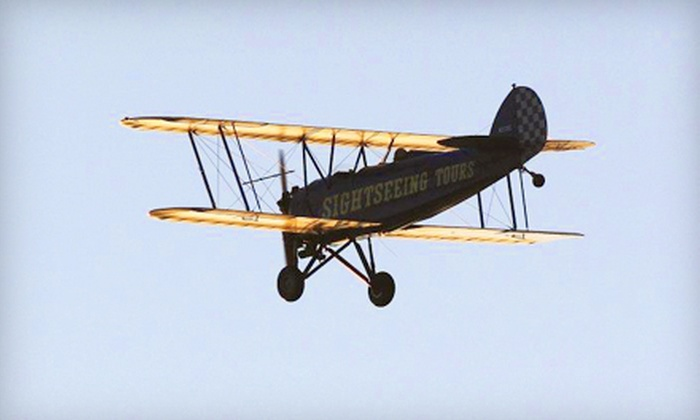 St. Augustine Biplane Rides - St. Augustine: $85 for Anastasia Island Tour for One from St. Augustine Biplane Rides ($170 Value)