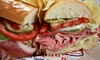 Lenny's Sub Shop - Multiple Locations: Subs, Philly Cheesesteaks, and Drinks at Lenny's Sub Shop (Up to 48% Off). Two Options Available.