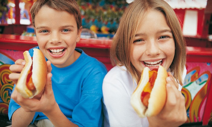 Kids Eat Free Card - Multiple Locations: One or Two Kids Eat Free Cards or One Stainless-Steel Lifetime-Use Kids Eat Free Card (Up to 75% Off)