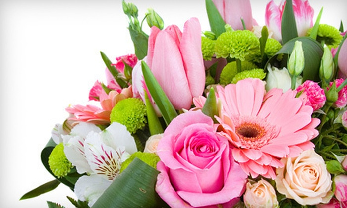 Purple Lotus Flowers - Broadmoor: Floral Arrangements at Purple Lotus Flowers (Up to 52% Off). Two Options Available.