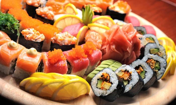 Tanzana Sushi - Wrocławia:  Japońskie przysmaki: zestawy sushi na dowóz od 54,99 zł w Tanzana Sushi (do -50%)