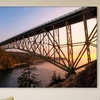 Up to 74% Off a Bridge Print on Canvas