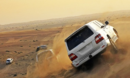 Half-Day Desert Safari with Dune Bashing, Quad Biking, BBQ Dinner, Horse Riding & more starting from AED 169