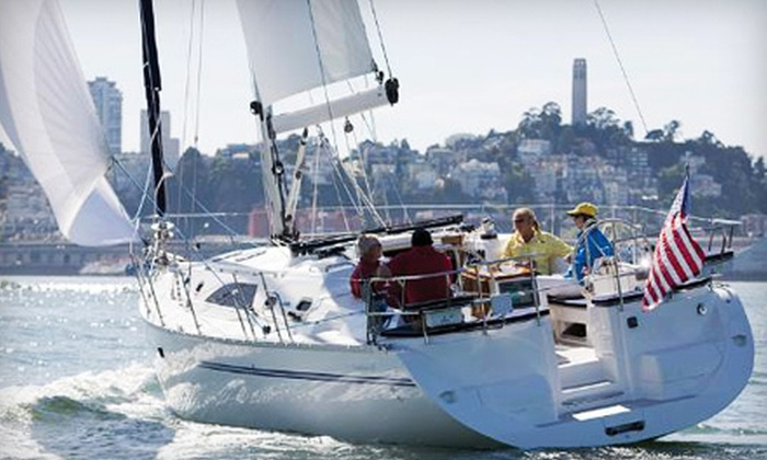 Sail Ventures USA - Sail Venture: Intro-to-Sailing Cruise for Two, Four, or Up to Six on a Luxury Yacht from Sail Ventures USA (Up to 66% Off)