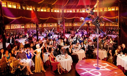 $149 for Two Tickets to a Circus Cabaret and Four-Course Meal on Sept. 14 or Oct. 26 at Teatro ZinZanni ($195 Value)