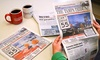 "The Tampa Tribune / The St. Petersburg Tribune: Subscription to ""The Tampa Tribune"" / ""The St Petersburg Tribune"" (Up to 82% Off). Four Options Available."