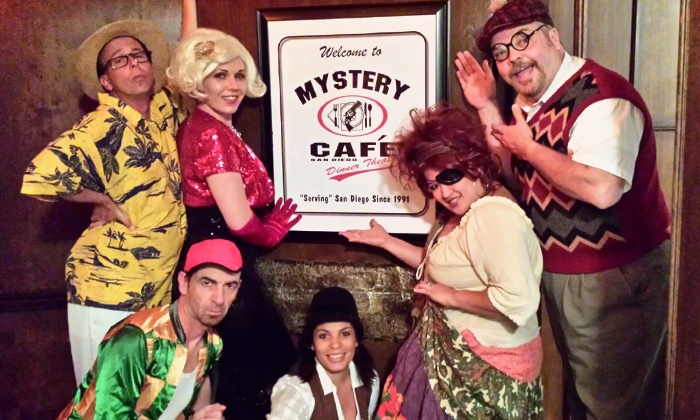 Mystery Cafe Dinner Theater - The Imperial House Restaurant: $75 for Mystery Comedy Dinner Theater for Two with Magnets at Mystery Cafe Dinner Theater ($130 Value)