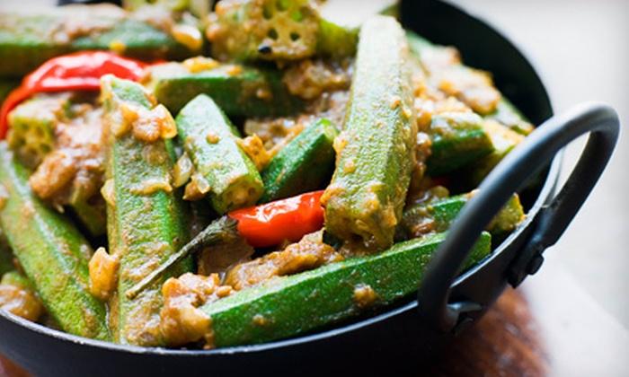 Uru-Swati - West Rogers Park: $20 for $40 Worth of Vegetarian Indian Food at Uru-Swati