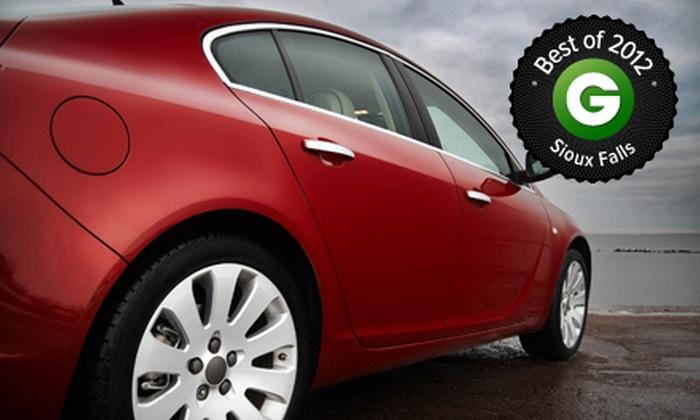 Get N Go Car Wash - Sioux Falls: $32 for Eight Ultra Car Washes at Get N Go Car Wash (Up to $72 Value)