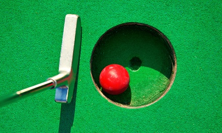 18-Hole Round of Mini Golf for One, Two, or Four at Super Putt (Up to 50% Off)