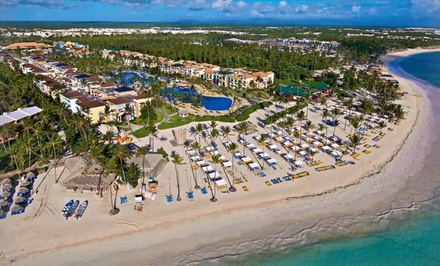 Groupon Deal: All-Inclusive Stay at Ocean Blue & Sand Punta Cana in Dominican Republic. Includes Taxes and Fees.