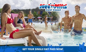 Wet'n'Wild Gold Coast: Wet'n'Wild Gold Coast: Child ($69) or Adult ($79) Single Day Pass (Up to $89 Value*)