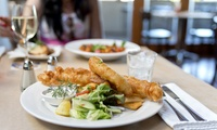 Fish and Chips High Tea for Two at Old Chain Pier (40% Off)
