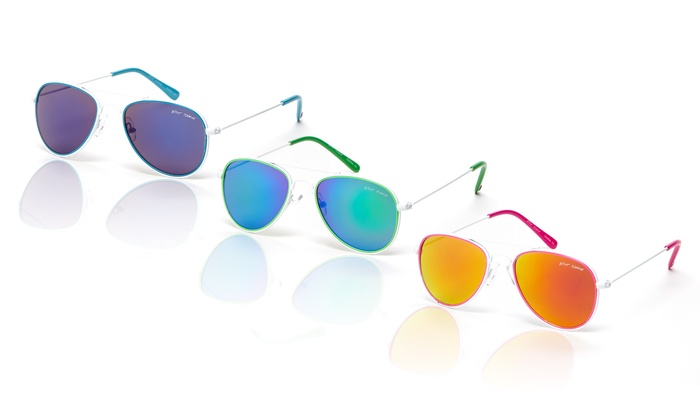 Betsey Johnson Aviator Sunglasses: Betsey Johnson Aviator Sunglasses | Brought to You by ideeli