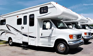 Johnson RV: One or Three Exterior Washes for a 30-Ft., 40-Ft., or Over 40-Ft. RV at Johnson RV (Up to 54% Off)