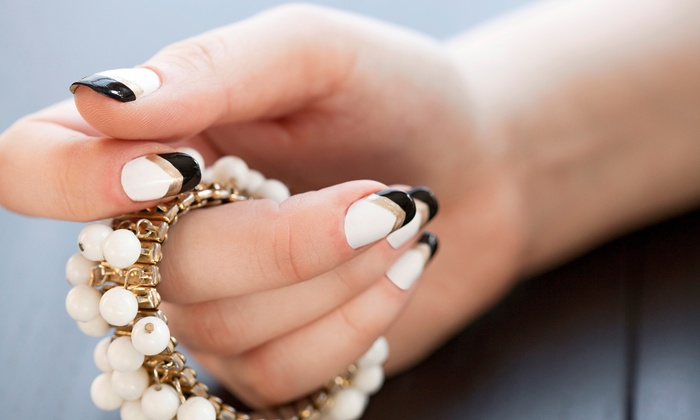 Luxe Nail Bar - Buckhead: Gel Manicure with Option for Express Pedicure at Luxe Nail Bar (Up to 46% Off)