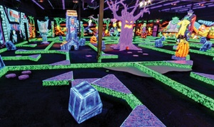 $18 For Four Rounds Of Miniature Golf At Monster Mini Golf (up To $36 Value)