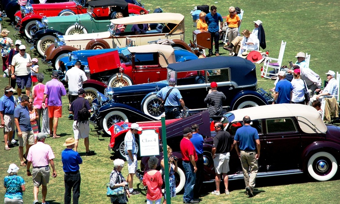 Pinehurst Concours d'Elegance - Pinehurst Resort : Car-Show Admission for Two or Four to Pinehurst Concours d'Elegance on Saturday, May 2 (Up to 42% Off)