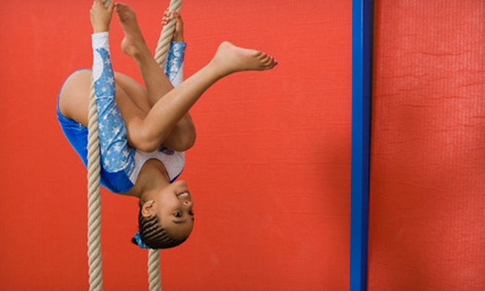 Olympiad Gymnastic Training Centers - Chesterfield: One Month or Six Weeks of Kids' Gymnastics Classes for One or Two at Olympiad Gymnastic Training Centers (Up to 57% Off)