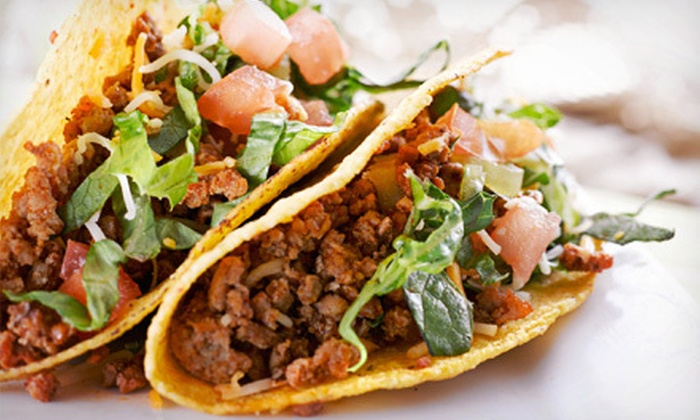 Picante Mexican Grill - Wesley Heights: Mexican Cuisine at Picante Mexican Grill (Up to 53% Off). Two Options Available.