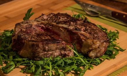 ? Menu con bistecca danese da 1 kg per una o 2 persone al ristorante Al Bivio (sconto fino a 46%). Prenota&Vai!