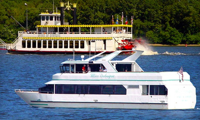 Dubuque River Rides - Dubuque: $19.50 for Two-Hour Father's Day Lunch Cruise on Sunday, June 16, at 11:30 a.m. from Dubuque River Rides ($39.25 Value)