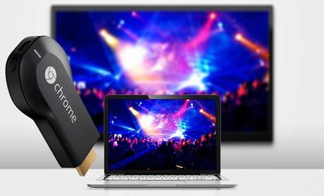 Google Chromecast HDMI Streaming