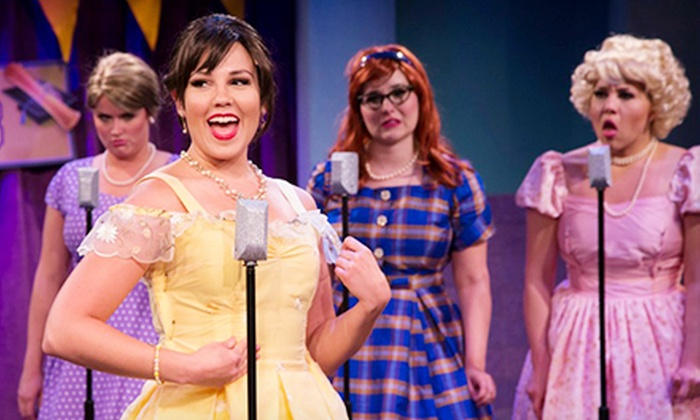 "The Marvelous Wonderettes: Caps and Gowns - Neartown/ Montrose: ""The Marvelous Wonderettes: Caps and Gowns"" at Stages Repertory Theatre on August 7–23 (Up to 59% Off)"