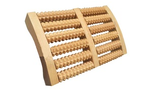Solid Wood Foot Massage Roller